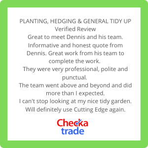 Image of a client review taken from Check a Trade